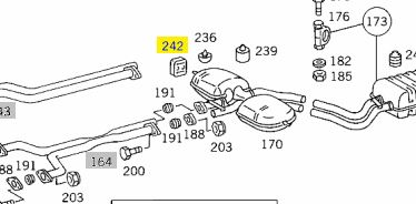 1264920182 Exhaust Damping Pad €5.00 Chassis