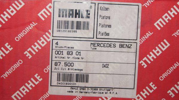 1150309817 M115 M121 87.50 mm Piston Set €395.00 Chassis