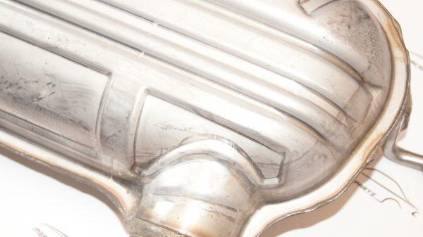 1644900116 W164 ML exhaust muffler €195.00 Genuine Mercedes Part