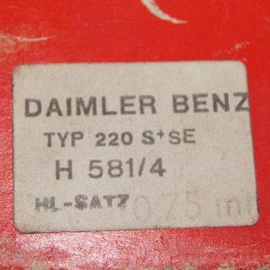 H581/4 , A1085860303 , 1085860303 , 1800300340 , A1800300340 , 1800302397 , A1800302397 , 1800302897 , A1800303397 ,1800303397 , 1805861503 , A1805861503 , 4413 m 0.75 , 87839630 , M127 M180 Crankshaft bearing reapair size 3 , 59.25mm