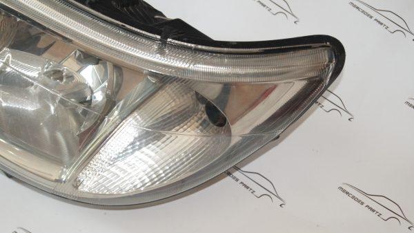 A9018202661 , 9018202661 , W901 W902 W903 W904 W905 W909 sprinter left headlamp with foglight , right hand traffic (USED)