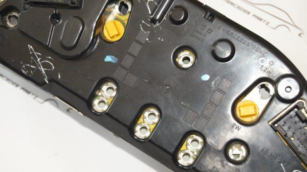 A2105407147 , 2105407147 , W210 E200 E230 instrument cluster (USED)