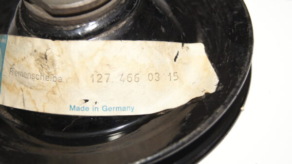 A1274660315 , 1274660315 , M110 M127 power steering conical bore pulley