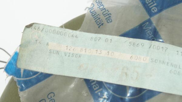 A1268101310 6080 , 1268101310 , W126 left sunvisor