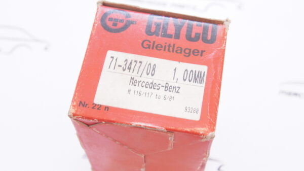 GLYCO 71-3477/08 71-3477/8 , A1160300460 ,1160300460 ,M116 M117 Connecting rod bearing 4th repair size +1.00mm ( 47.00 mm )