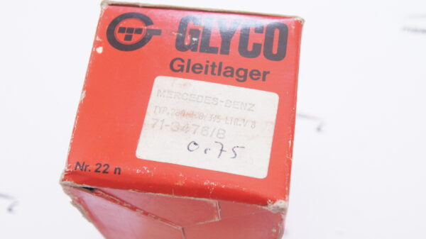 GLYCO 71-3476/08 71-3476/8 +0.75 , A1165861303 , 1165861303 , 1165862003 , A1165862003 , A1160300560 , 1160300560 , M116 M117 Connecting rod bearing repair size 3 +0.75 mm ( 51.25 mm )
