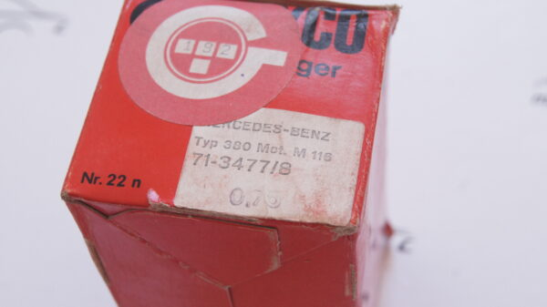 A1160300360 , 1160300360 , GLYCO 71-3477/08 71-3477/8 +0.75 47.25mm 3rd repair size